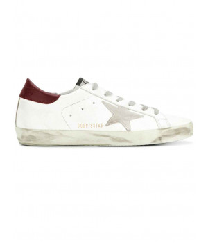 Кеды Golden Goose  'Superstar' bordo мужские