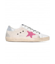 Кеды Golden Goose  'Superstar' pink canvas