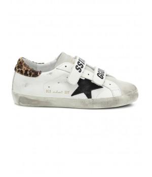"Кеды Golden Goose  ""Old School"" leather sneakers"