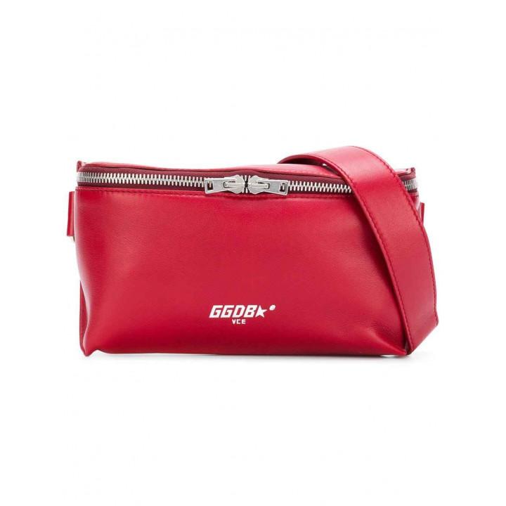 Купить Поясная сумка Golden Goose red