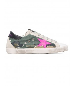 Кеды Golden Goose  'Superstar' CAMOUFLAGE CANVAS