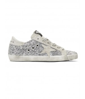 Кеды Golden Goose  'Superstar' glitter