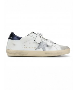 "Кеды Golden Goose  ""Old School"" velcro low-top trainers"